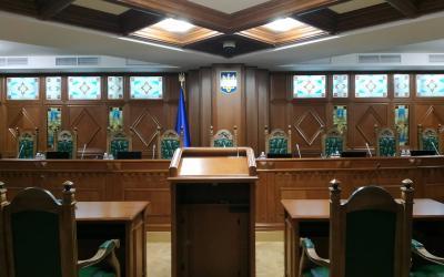Другий сенат КСУ перейшов до закритої частини пленарного засідання у справі за конституційною скаргою Литвиненка О.І.
